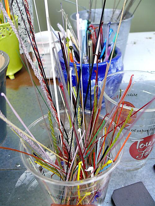 Glass-sticks