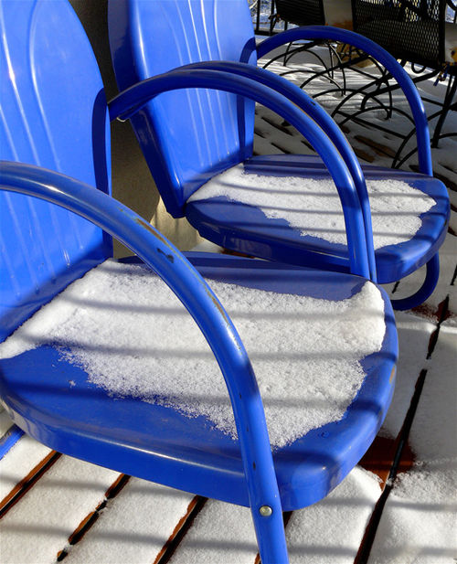 Blue-chairs