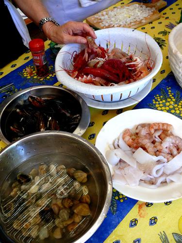Seafood-prep