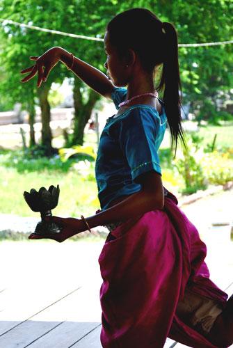 Temple-dancer