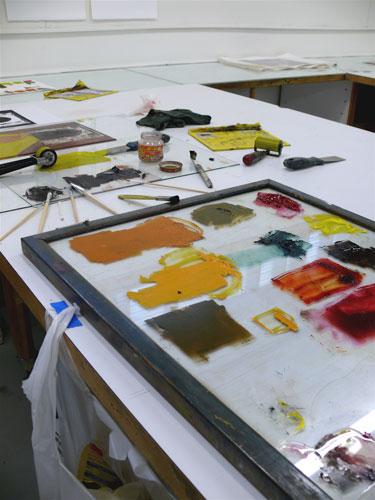 Ink-palette
