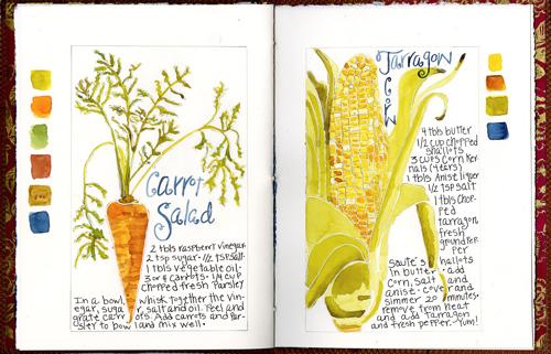 Vegetable-spread
