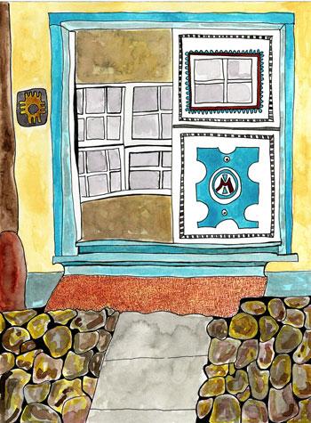 Mabel's-door